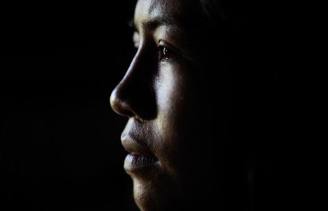 """Die Gemeinschaft aus alleinstehenden Frauen der Organisation """"Buscando Futuro"""" bewirten riesige Kaffeeplantagen in Kolumbien. Foto: Reza"""