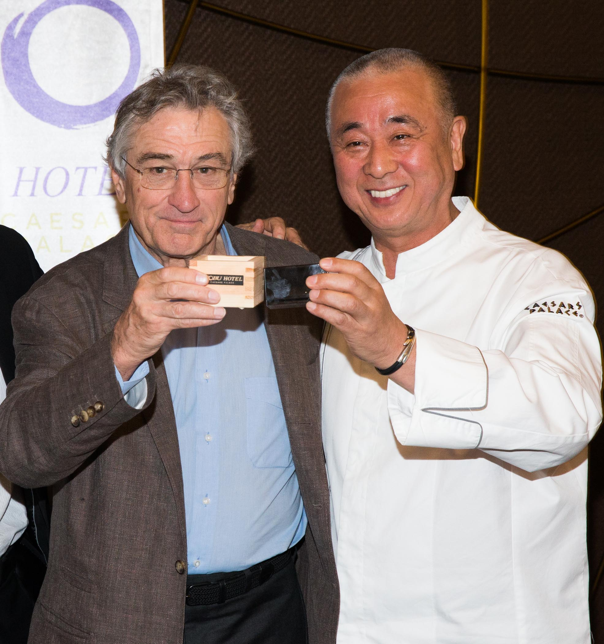 NOBU HOTEL Grand Opening with Robert De Niro at Caesars Palace in Las Vegas, NV