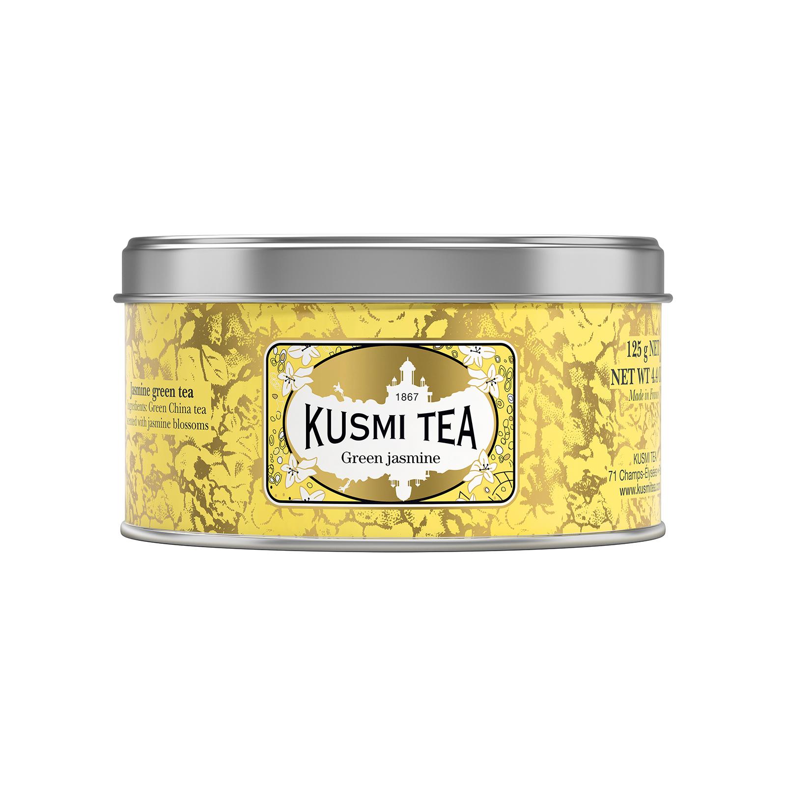 Gelbe Teedose von Kusmi Tea